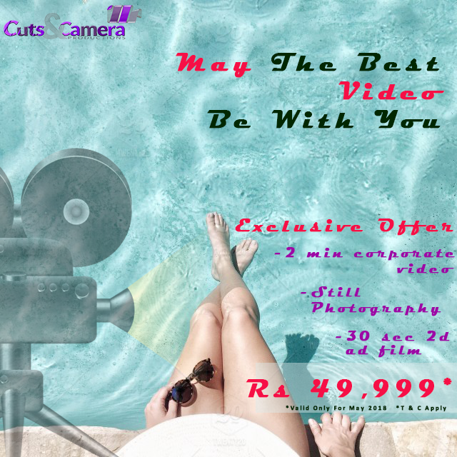 video prouduction gurgaon delhi may 2018 offer exclusive deal